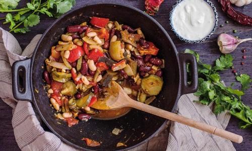 Овощной суп чили